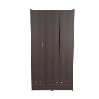 Charming Espresso Wengue Armoire