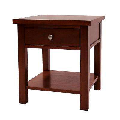 Oakdale Cherry End Table