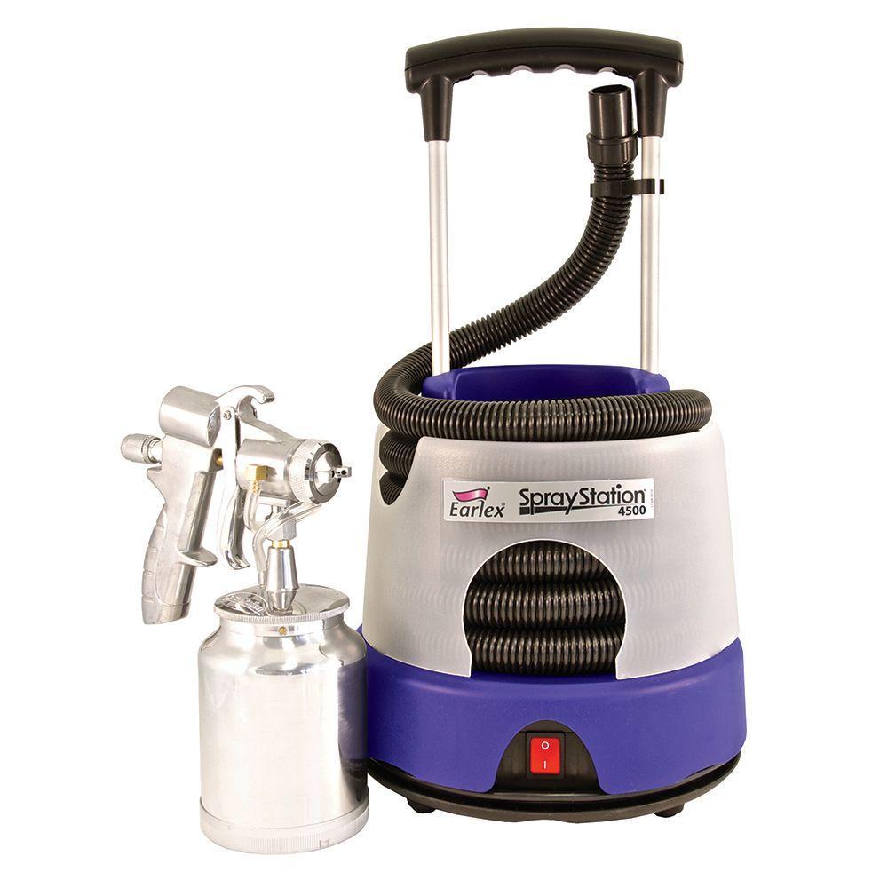 earlex 4500 spray station hvlp sprayer 0hv4500us the home depot. Black Bedroom Furniture Sets. Home Design Ideas