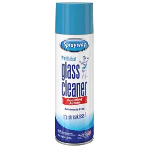 Sprayway 19 Oz Glass Cleaner Sw050r The Home Depot