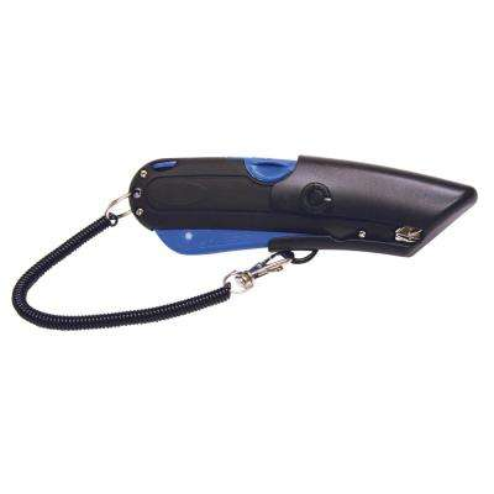 Blade Storage Utility Knife 3 x Blade Black, Blue