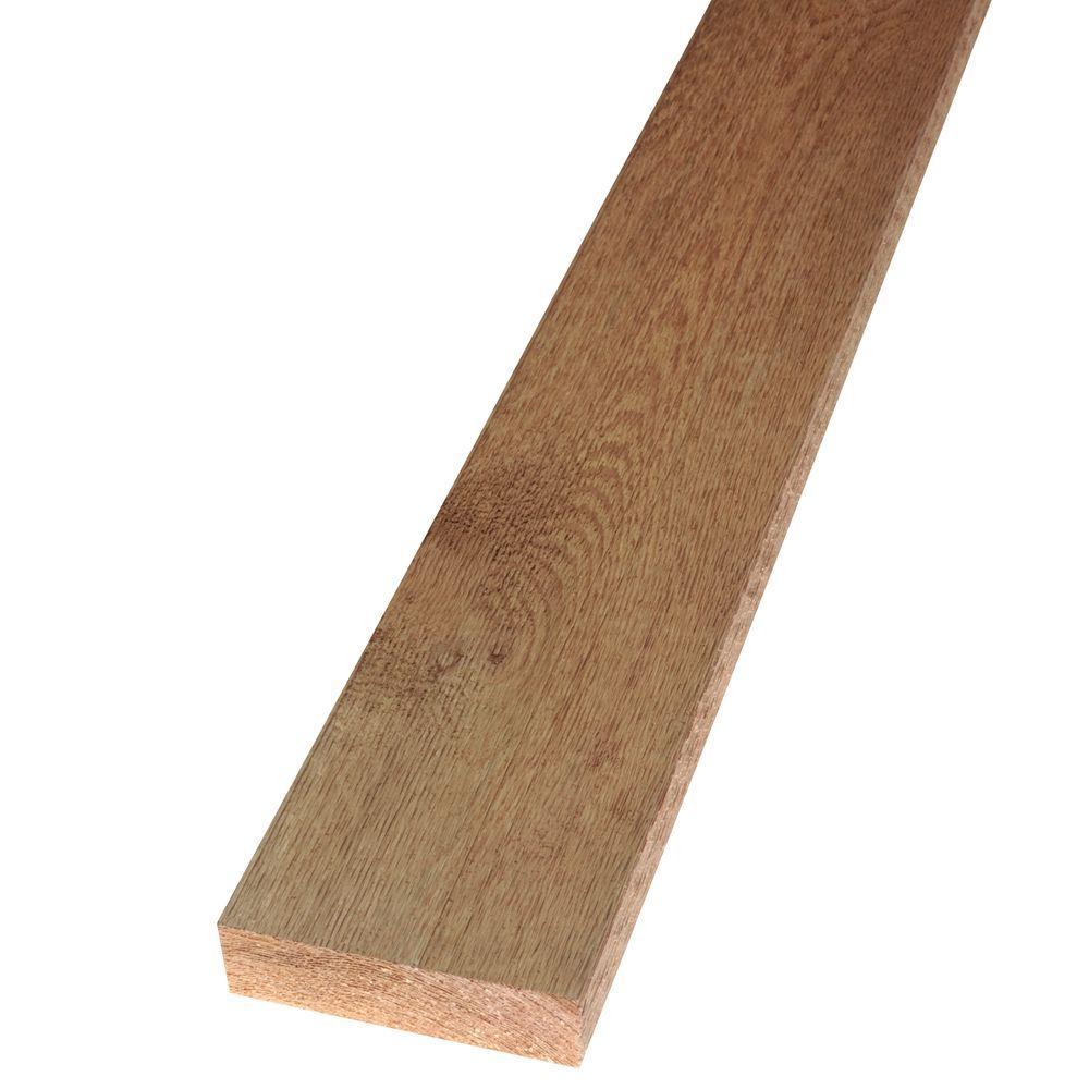 2 in  x 8 in  x 8 ft  Rough Green Western Red Cedar Lumber