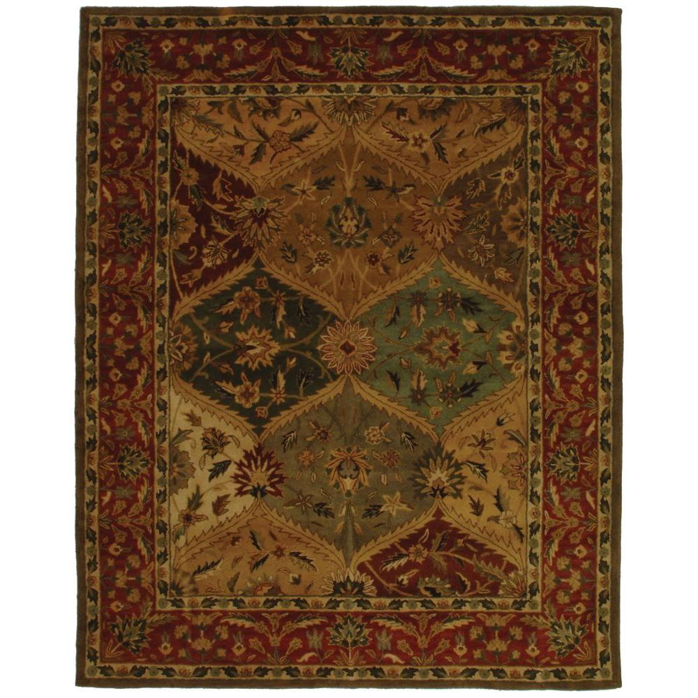 Safavieh Heritage Multi 8 ft. 3 in. x 11 ft. Area Rug
