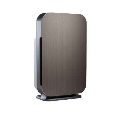 Customizable Air Purifier with HEPA-Silver Filter to Remove Allergies Mold and Bacteria in Silver