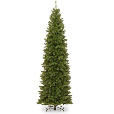 10 ft. North Valley Spruce Pencil Slim Artificial Christmas Tree