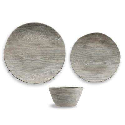 French Oak 12-Piece Dinnerware Set