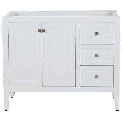 Darcy 48 in. W x 22 in D Bath Vanity Cabinet Only in White