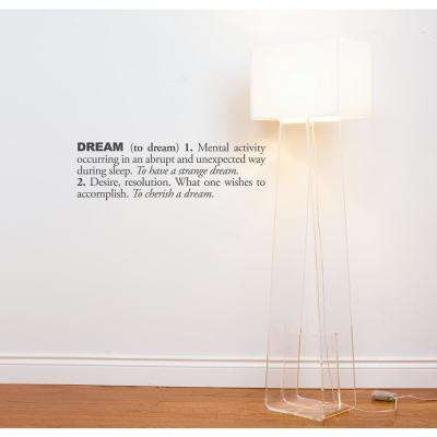 (31 in x 10 in) Dream (english) Wall Decal