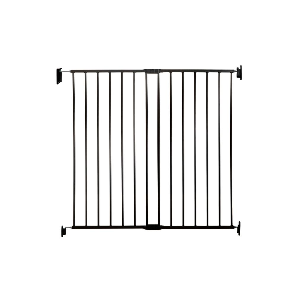 Regalo 38 In Extra Tall Top Of Stairs Metal Safety Gate