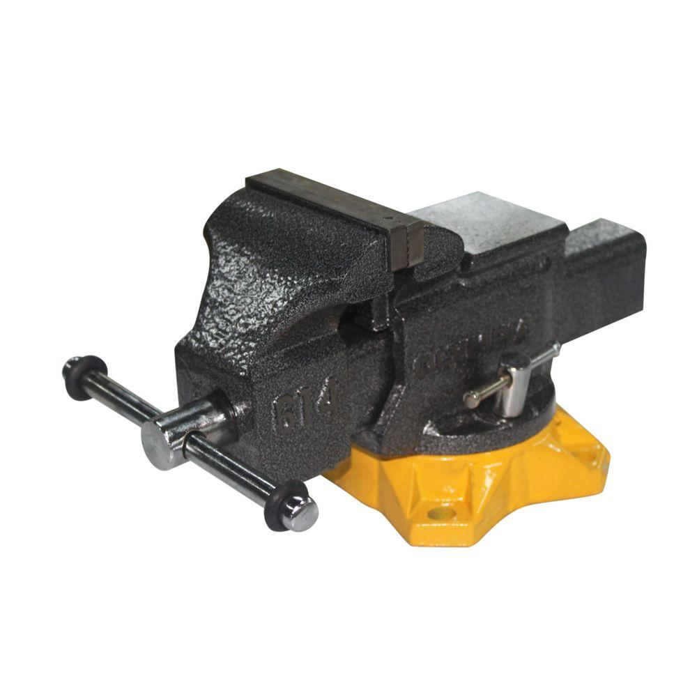 OLYMPIA 4 in Mechanics Bench Vise38614 The Home Depot