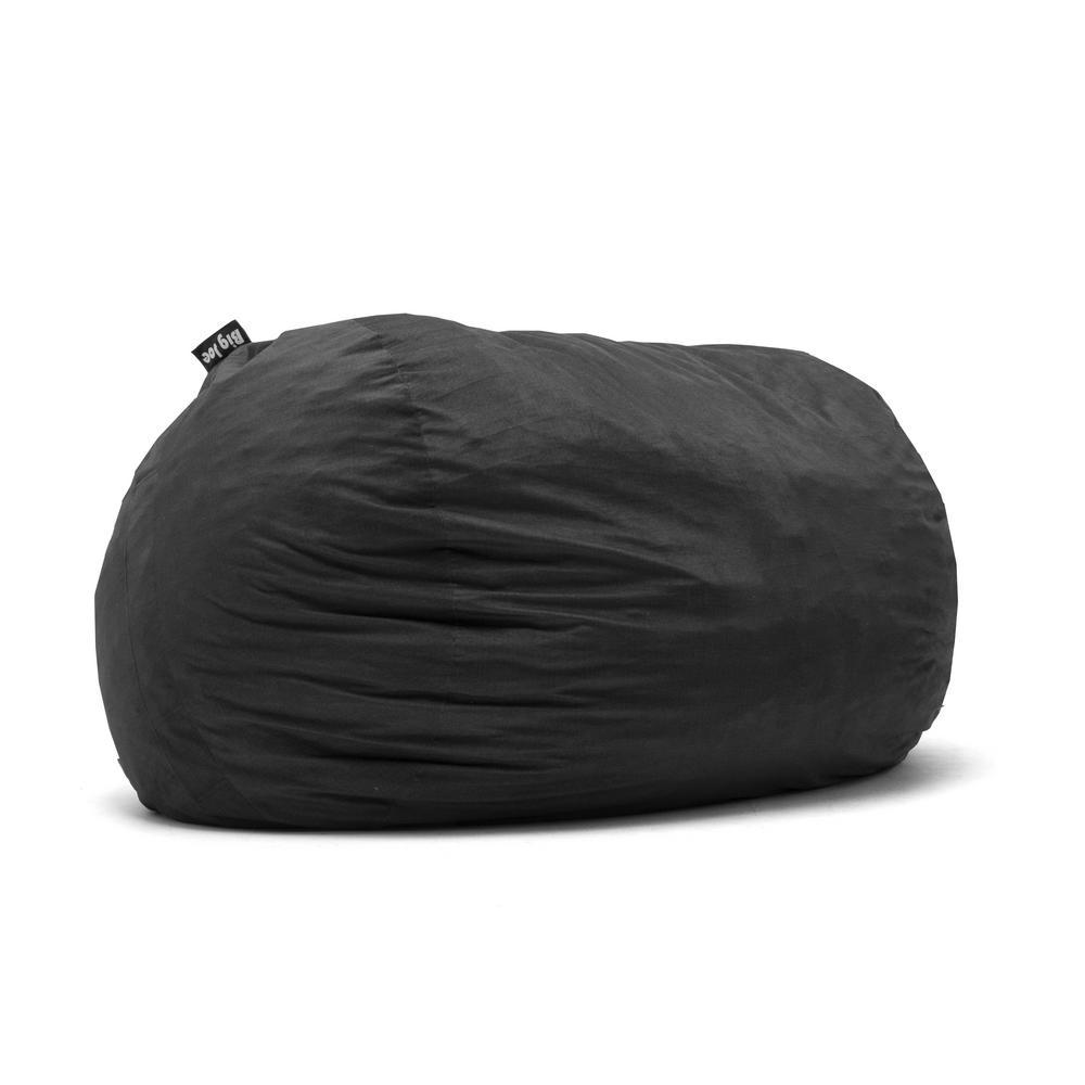 Big Joe XXL FUF Shredded Ahhsome Foam Black Lenox Bean Bag
