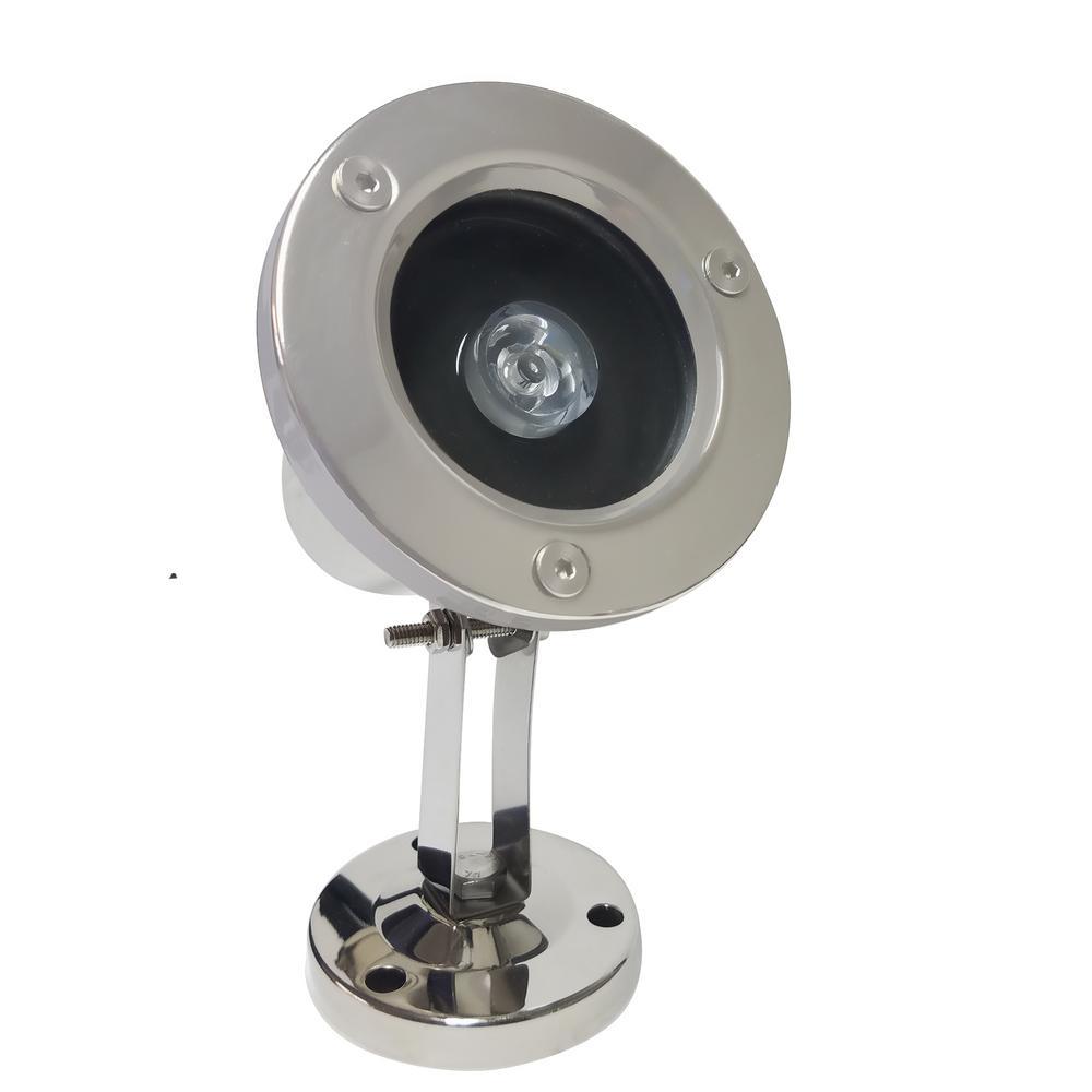 3-Watt Remote Control Submersible LED Light, Multicolor