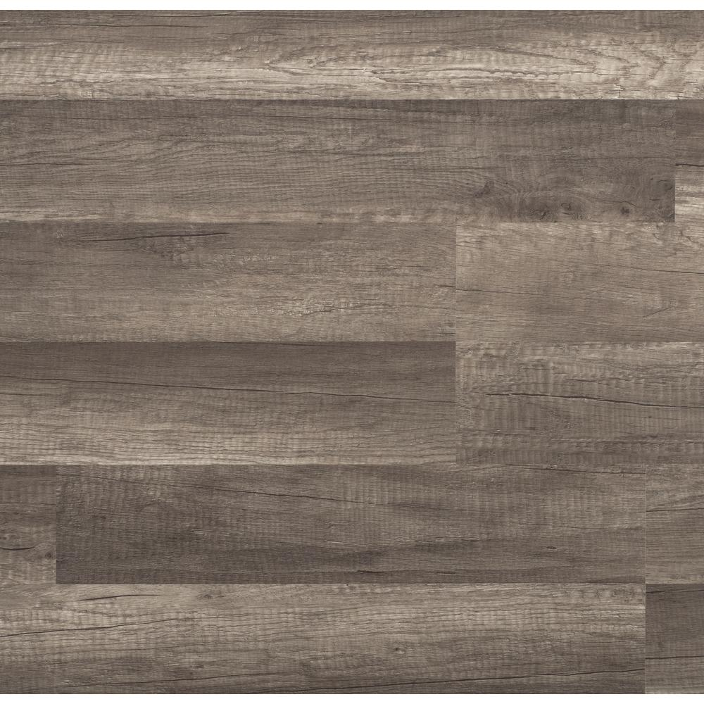 Trafficmaster Grey Oak 7 Mm Thick X 8 03 In Wide 47 64 Length
