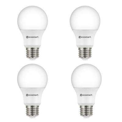 40-Watt Equivalent A19 Dimmable ENERGY STAR LED Light Bulb, Soft White (4-Pack)
