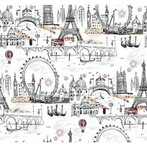 York Wallcoverings Novelty Euro Scenic Wallpaper by York Wallcoverings