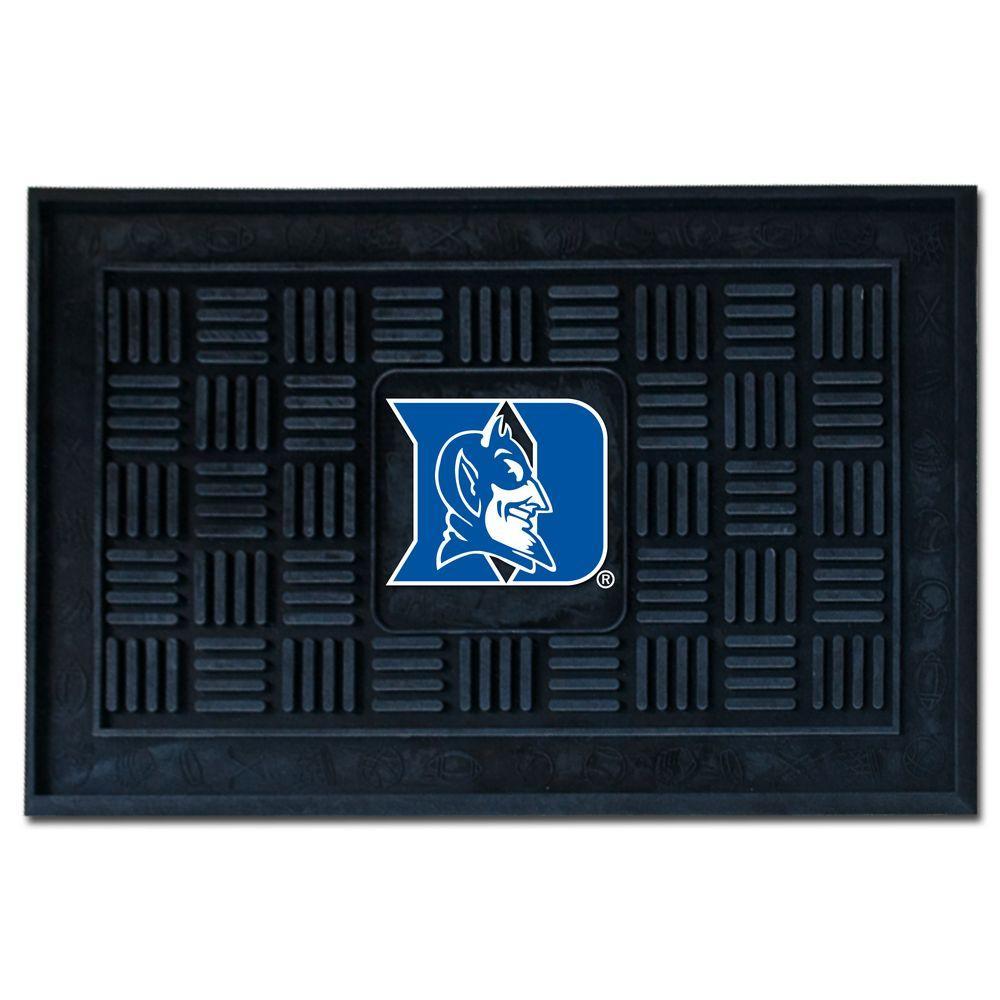 NCAA Duke University 19 in. x 30 in. Vinyl Door Mat