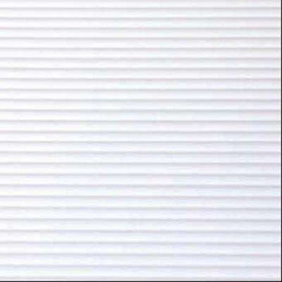 White Ribbed Shelf/Drawer Liner (Set of 6)