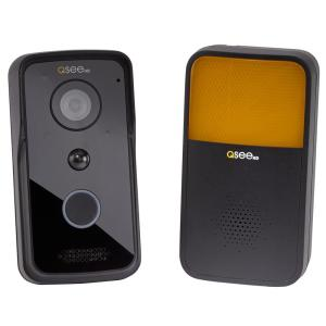 720p Wi-Fi Smart Video Door Bell and Chime with Night Vision