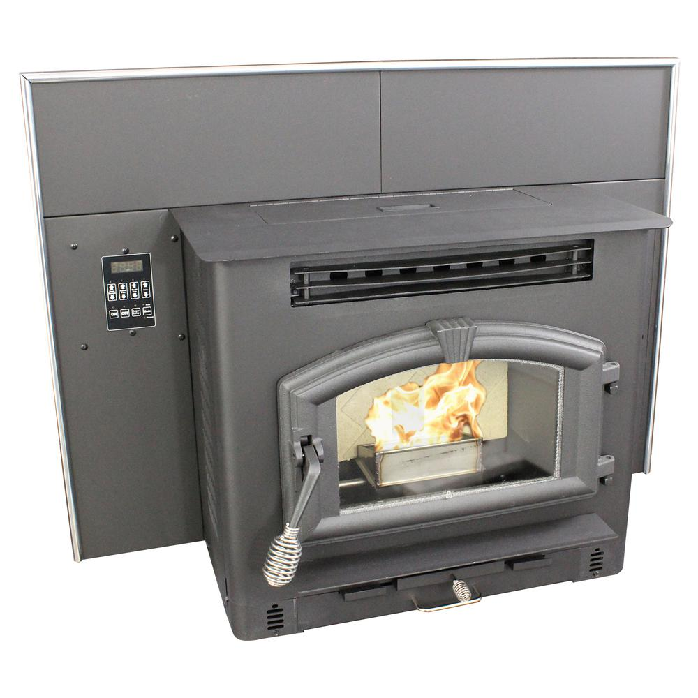 Groovy Us Stove 44 25 In 2000 Sq Ft Multi Fuel Fireplace Insert Home Interior And Landscaping Mentranervesignezvosmurscom