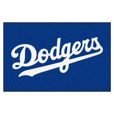 Los Angeles Dodgers 19 in. x 30 in. Accent Rug