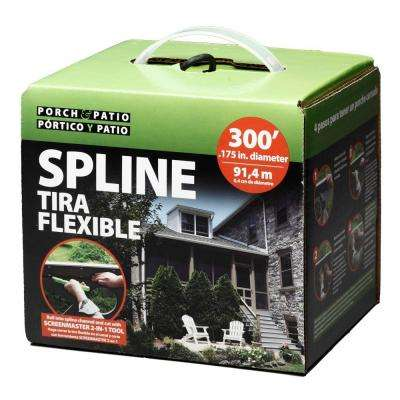 .175 in. x 3600 in. Box Spline Porch and Patio System