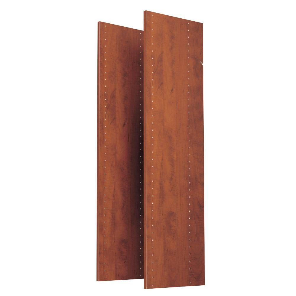 Martha Stewart Living 48 in. Wild Cherry Vertical Panels (2-Pack)