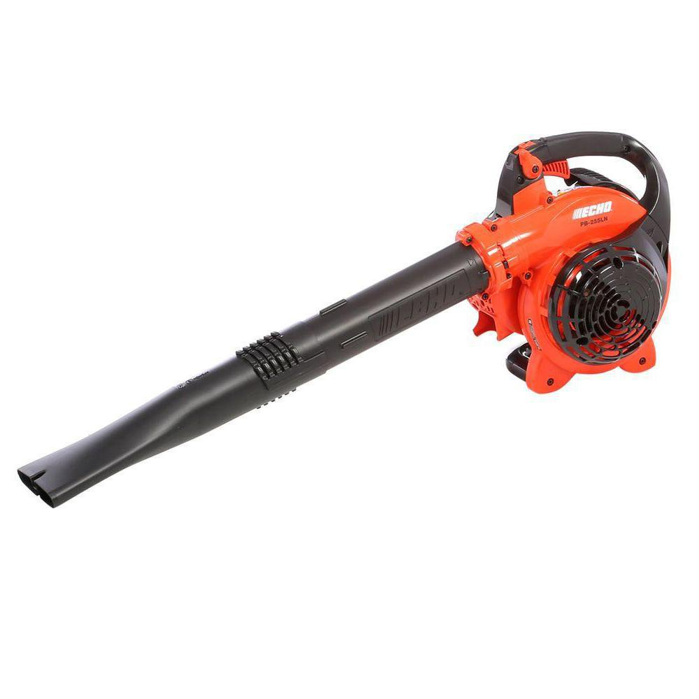 ECHO 191 MPH 354 CFM 25 4 cc Gas 2-Stroke Cycle Low Noise Handheld Leaf  Blower