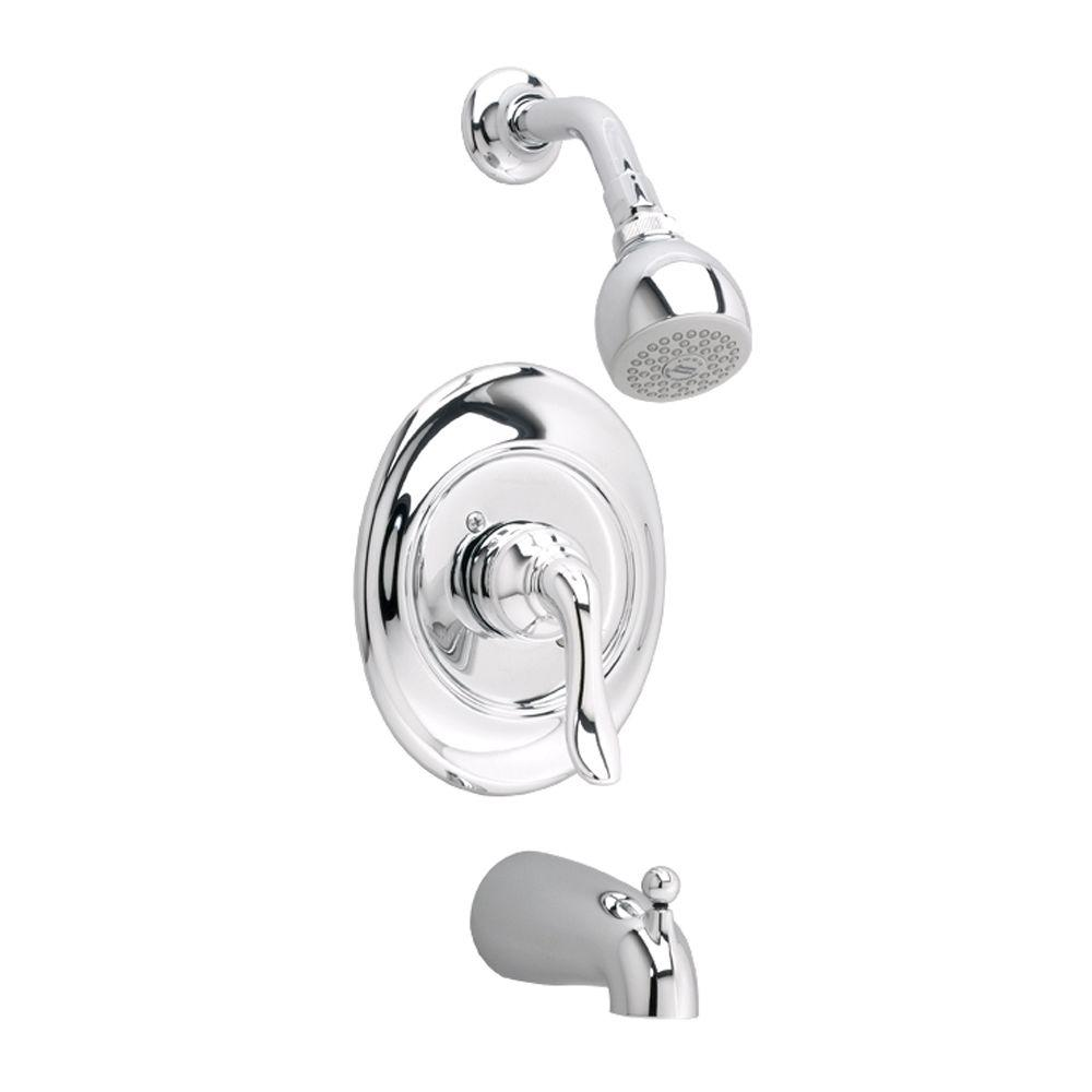 American Standard Princeton 1-Handle Tub and Shower Faucet Trim Kit ...