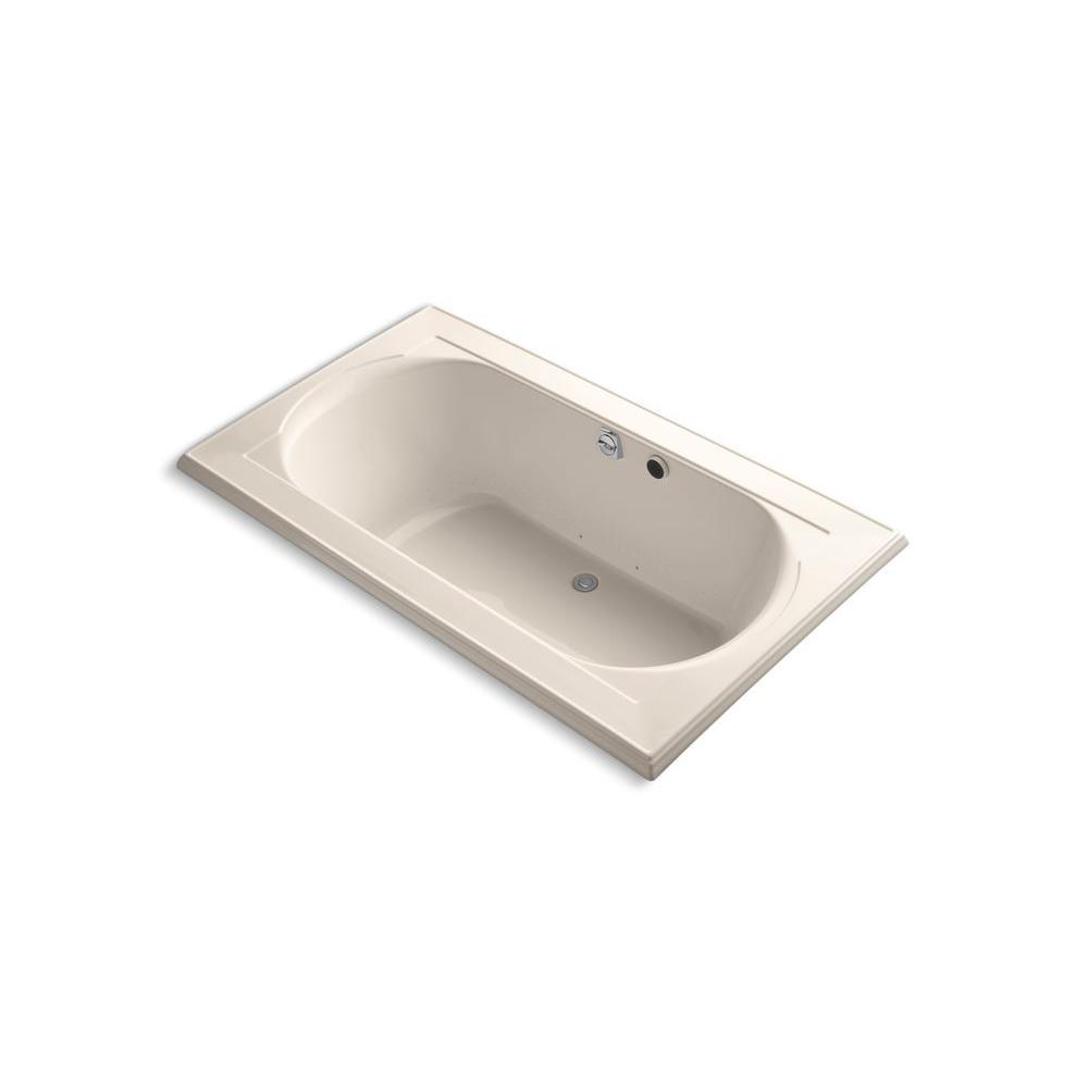 KOHLER Memoirs 6 ft. Whirlpool Tub in Innocent Blush-DISCONTINUED