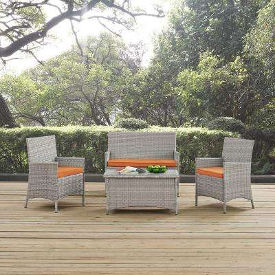 water resistant modway patio furniture outdoors the home depot rh homedepot com modway convene patio furniture modway patio furniture sets