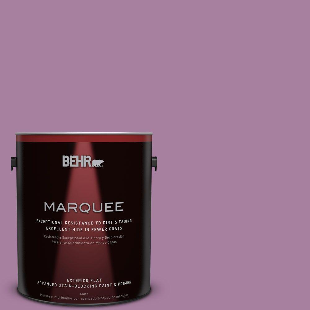 BEHR MARQUEE 1-gal. #M110-5 Amazonian Orchid Flat Exterior Paint