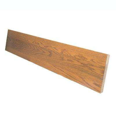 0.75 in. x 7.5 in. x 36 in. Prefinished Gunstock Red Oak Riser