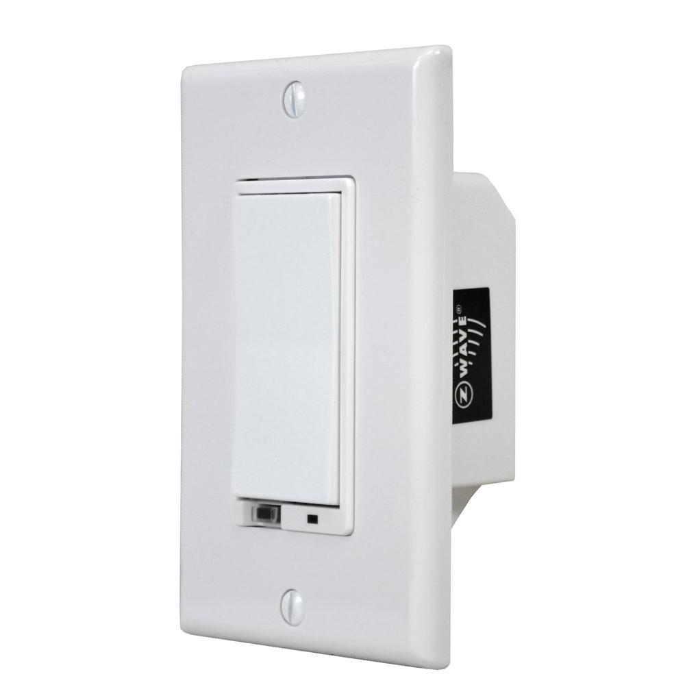 Z-Wave Wall Mount Dimmer Switch for 1000-Watt