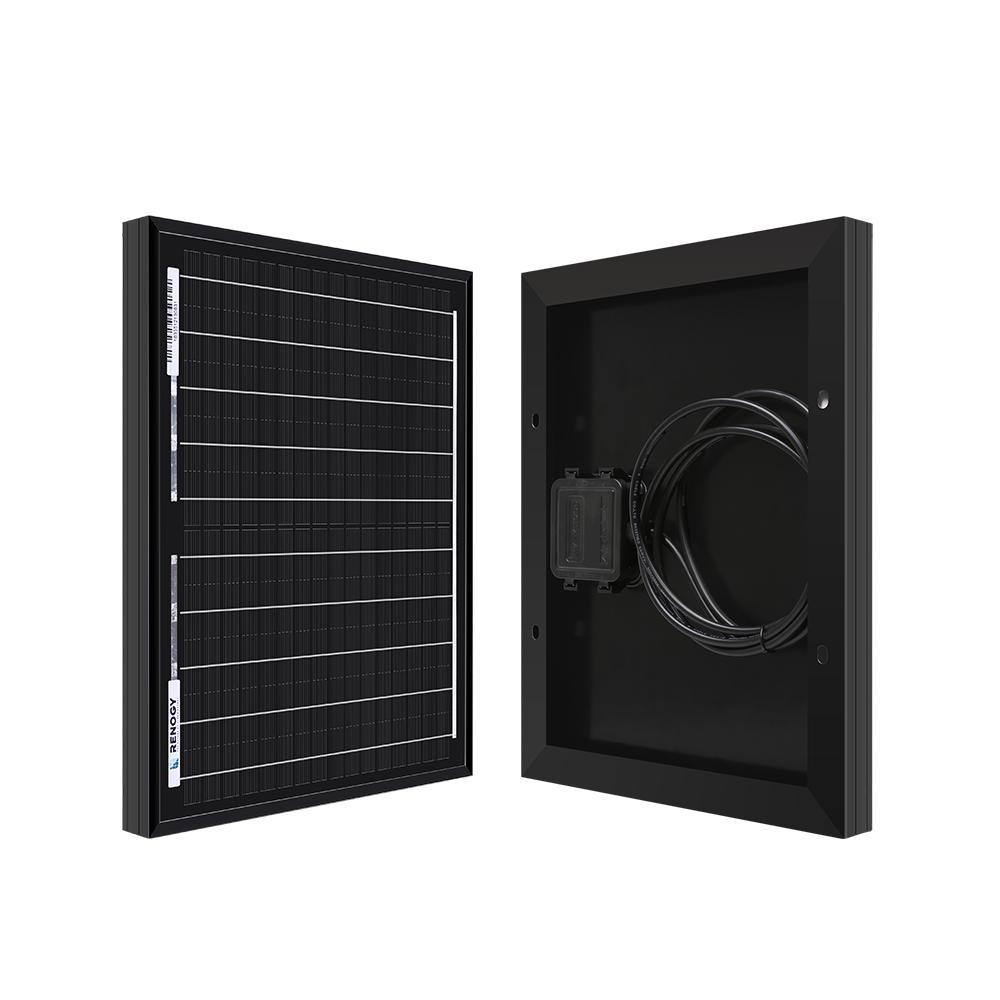 10-Watt 12-Volt Monocrystalline Solar Panel
