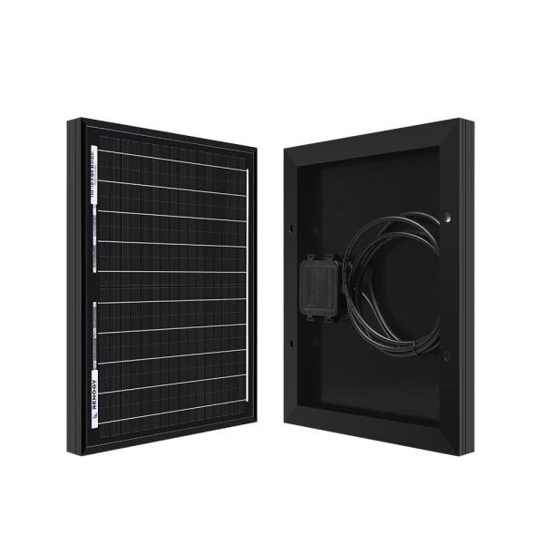 Coleman 10 Watt Polycrystalline 12 Volt Solar Panel 38001 The Home Depot