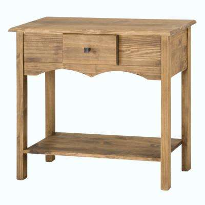 Jay 31.49 in. Tall Nature Sideboard with 1-Full Extension Drawer