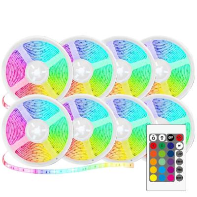 LED Light Strips Color Changing RGB Kit with Color Changing RF Remote- 2 x 5M (Pack of 4)