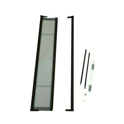 36 in. x 78 in. Brisa Bronze Short Height Retractable Screen Door