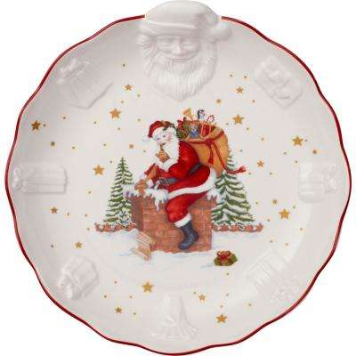 Toy's Fantasy 9.75 in. Large Bowl Santa Relief