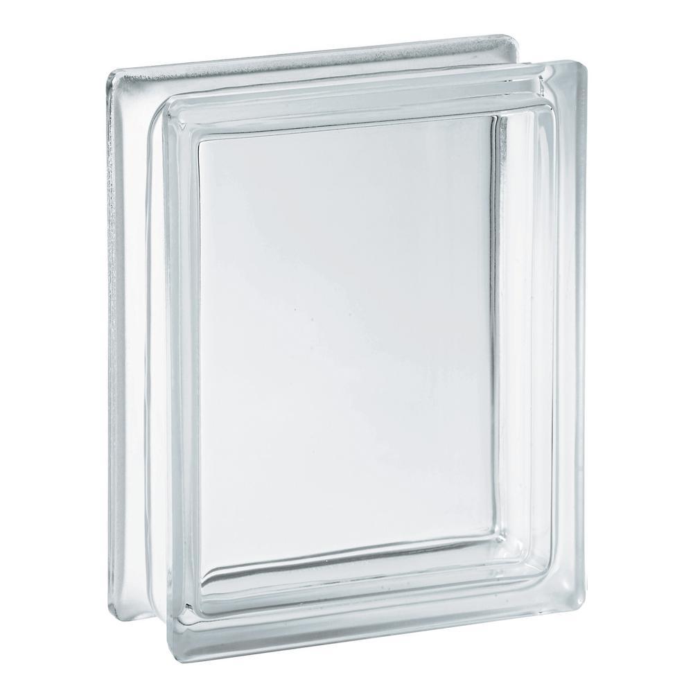5.75 in. x 7.75 in. x 3.12 in. Clear Pattern Glass