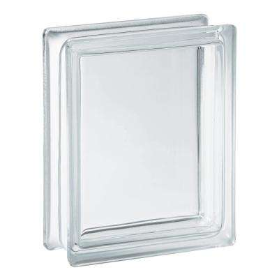 5.75 in. x 7.75 in. x 3.12 in. Clear Pattern Glass Block (10-Pack)