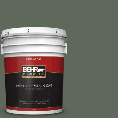 5 Gal. #MQ6 15 Less Travelled Flat Exterior Paint And Primer In One