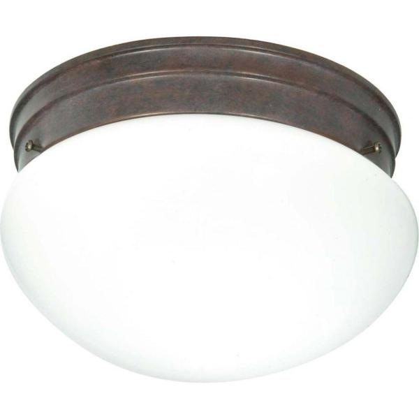 Tony 2-Light Old Bronze Flush Mount