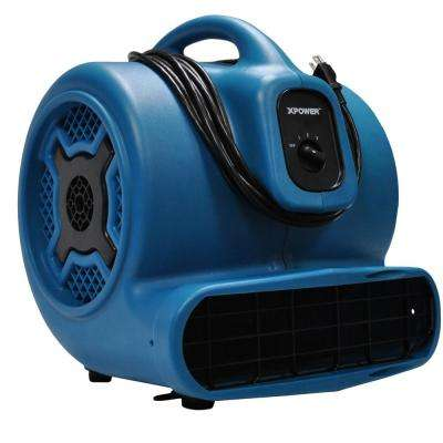 3/4 HP 3-Speed Air Mover Blower Fan