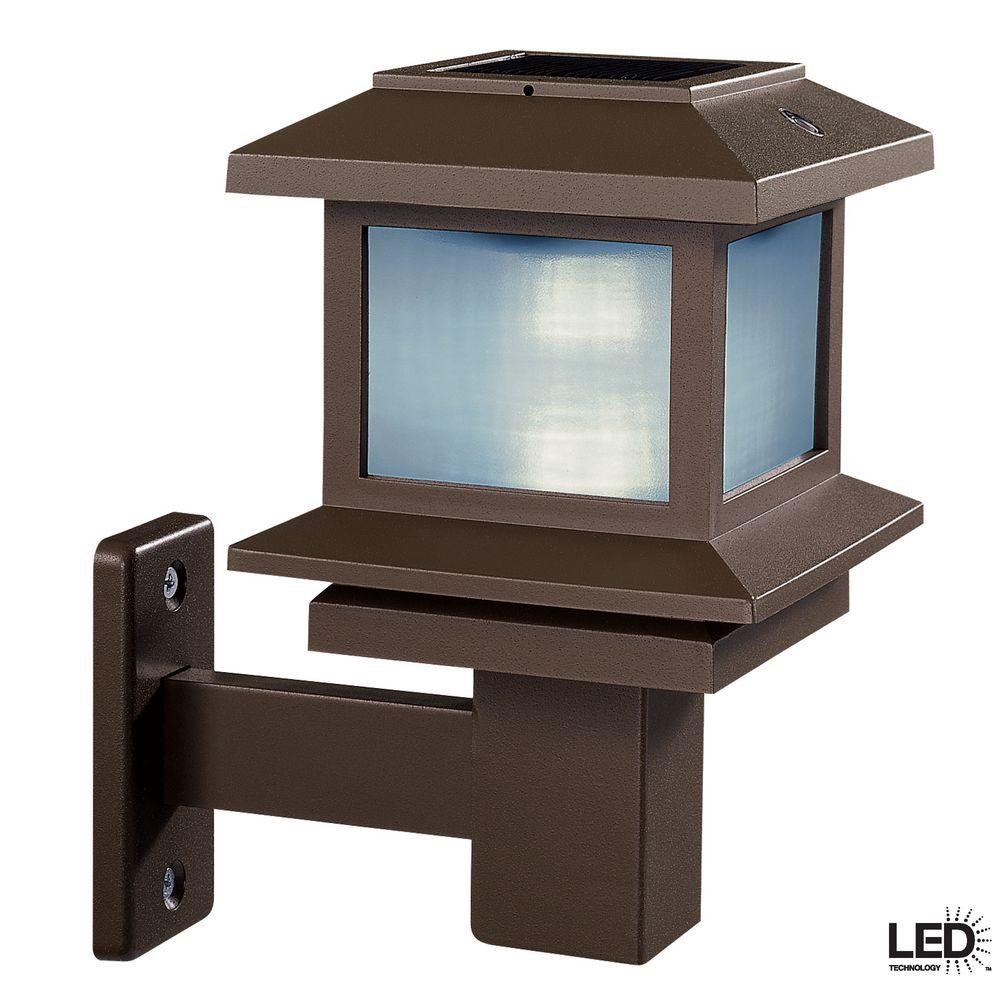 Hampton Bay Solar LED Deck Light-DISCONTINUED