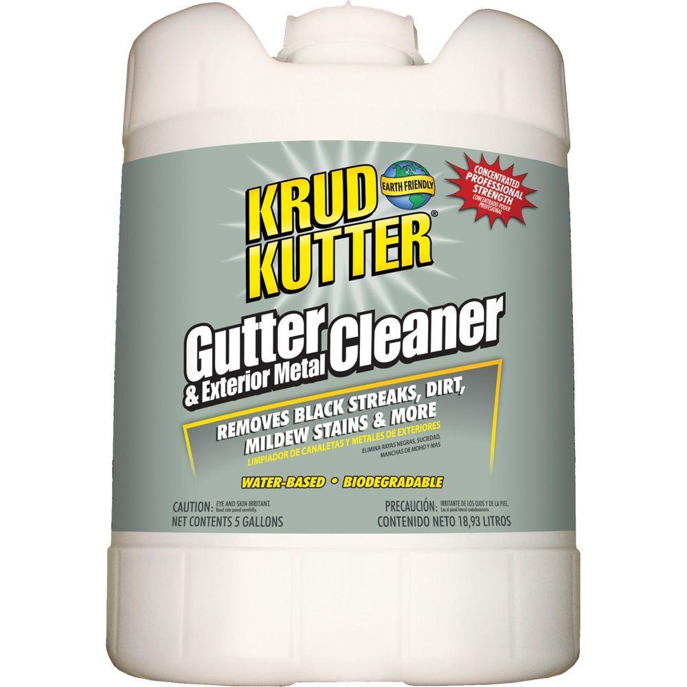 Krud Kutter 5 Gal Gutter Cleaner Gc05 The Home Depot