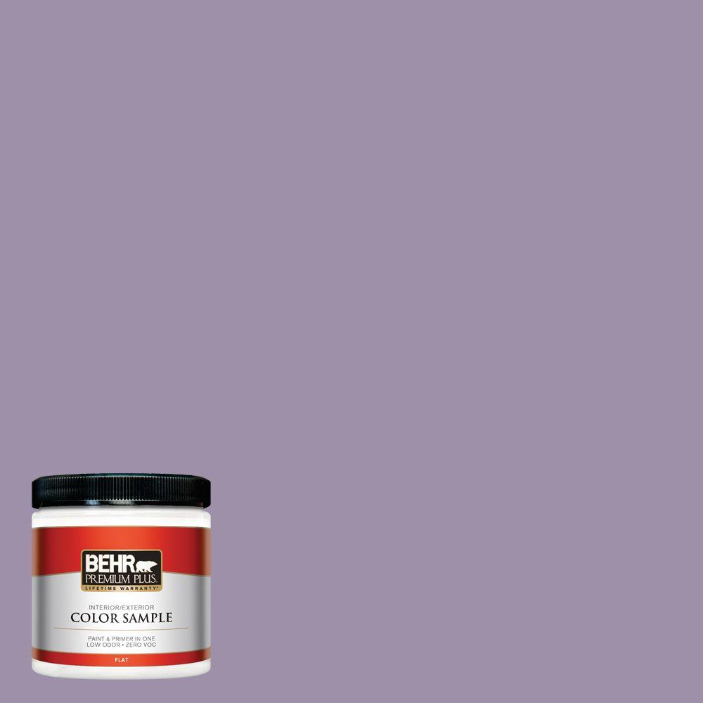 8 oz. #S100-4 Ancestry Violet Interior/Exterior Paint Sample