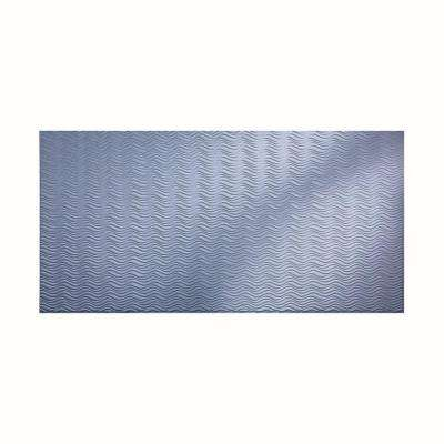 Current Horizontal 96 in. x 48 in. Decorative Wall Panel in Thistle