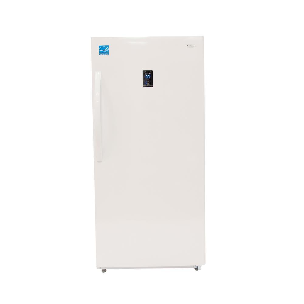 Danby Designer 14 0 cu  ft  Frost Free Upright Freezer in White