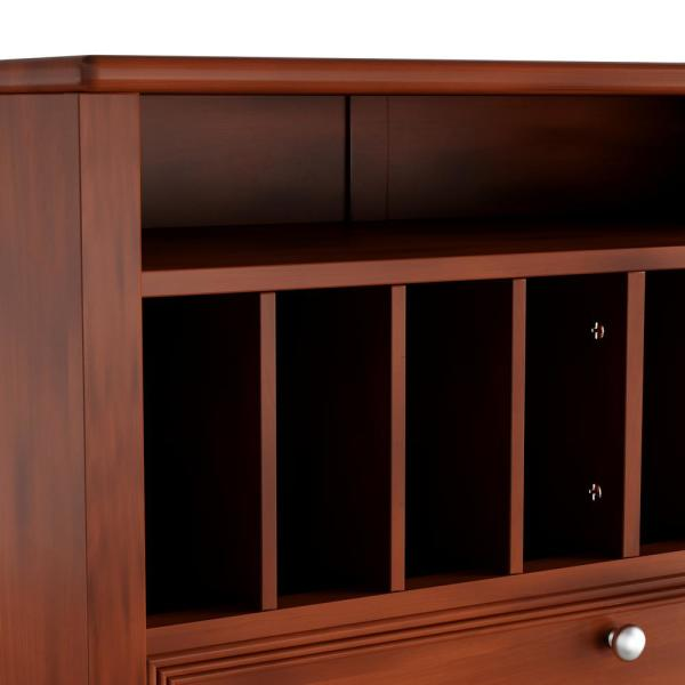 Home Decorators Collection Oxford Chestnut Secretary Desk Bf 22766